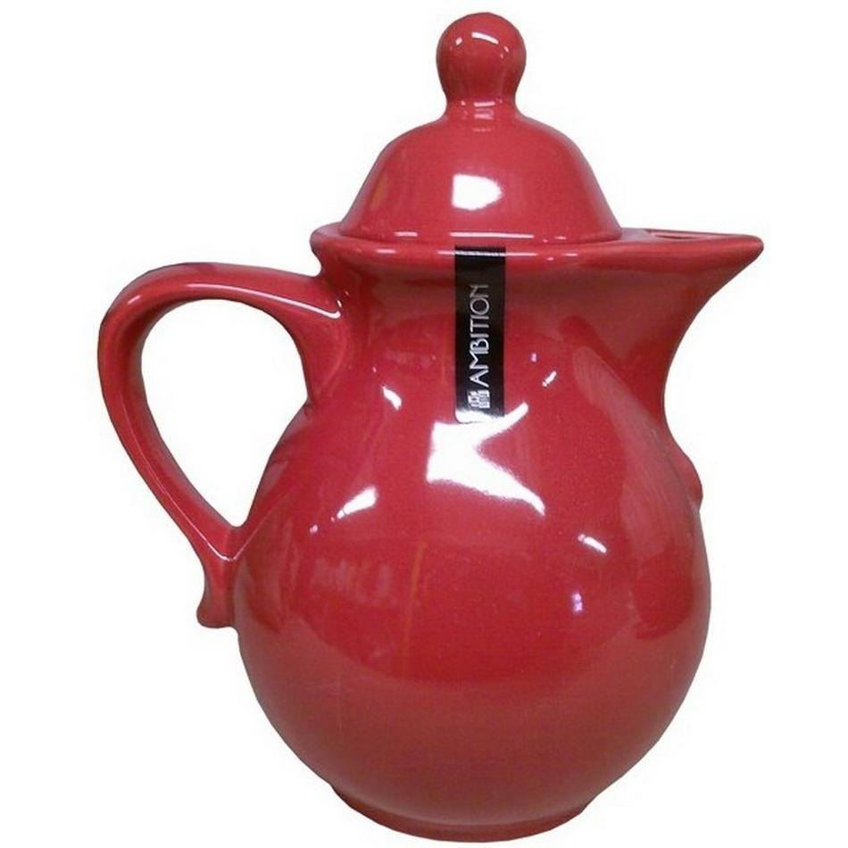 AMBITION kanvica na čaj červená,