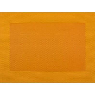 Suport farfurie Square portocaliu, 30 x 45 cm