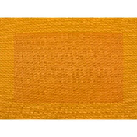 BO-MA Prostírání Square oranžová, 30 x 45 cm