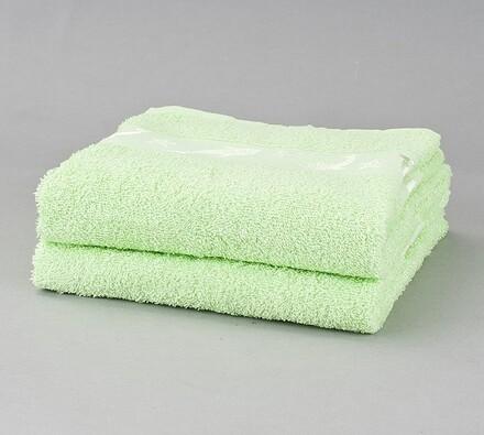 Sada bavlněných ručníků Delfíni, světle zelená, 50 x 90 cm, sada 2 ks