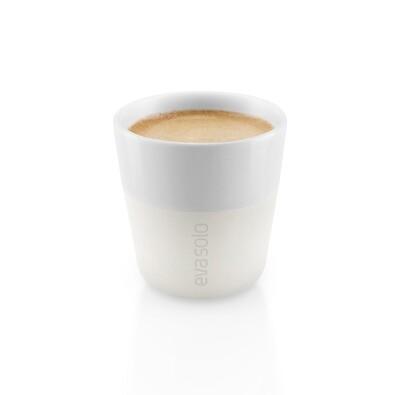 Šálek na espresso 80 ml bílý, sada 2 ks