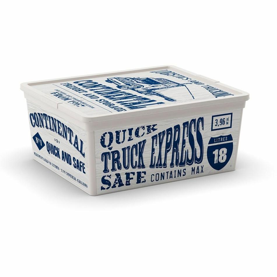 Úložný box KIS C-Box Wood M 18l