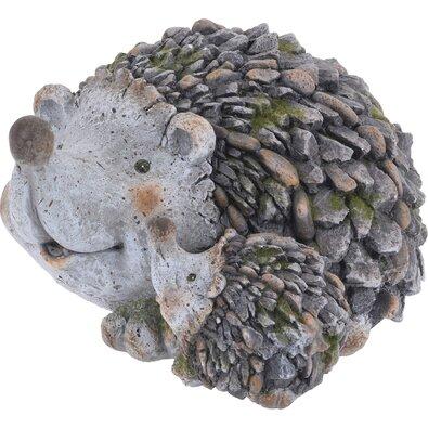 Dekoracja ogrodowa Rodzinka jeżyków, 32 cm