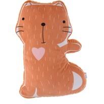 Dětský polštářek Kočka, 40 x 50 x 9 cm