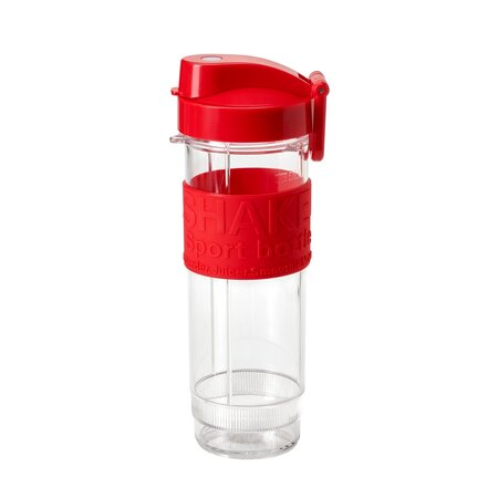 Concept Náhradná fľaša k smoothie SM3382 s vekom, červená, 570 ml