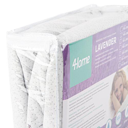 Protecție saltea 4Home Lavender cu elastic, 180 x 200 cm