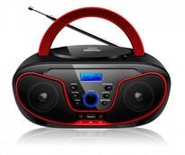 Bravo B-6037 CD přehrávač, červeno-černá