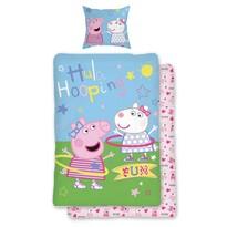 Jerry Fabrics Dziecięca pościel bawełniana Peppa Pig 031, 140 x 200 cm, 70 x 90 cm