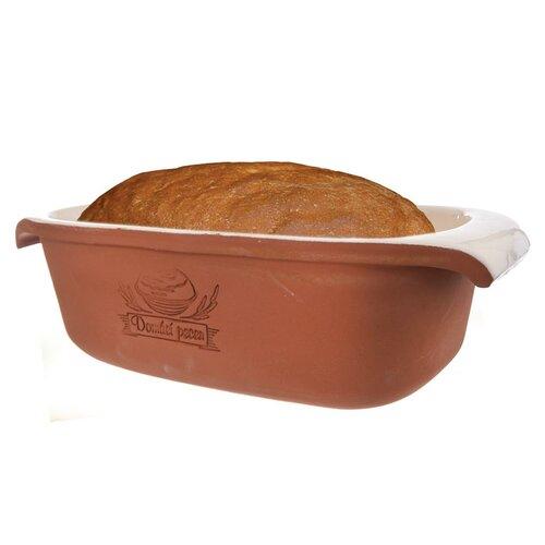 Orion Forma ceramiczna z pokrywą na chleb 33 x 16 cm