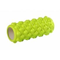Rolă fitness de masaj, verde deschis, 33 x 15 cm