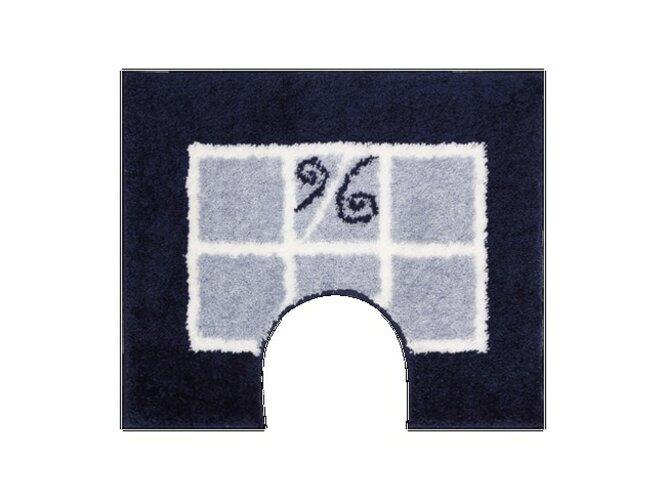 WC predložka Grund MERIDA modrá, 60x50 cm