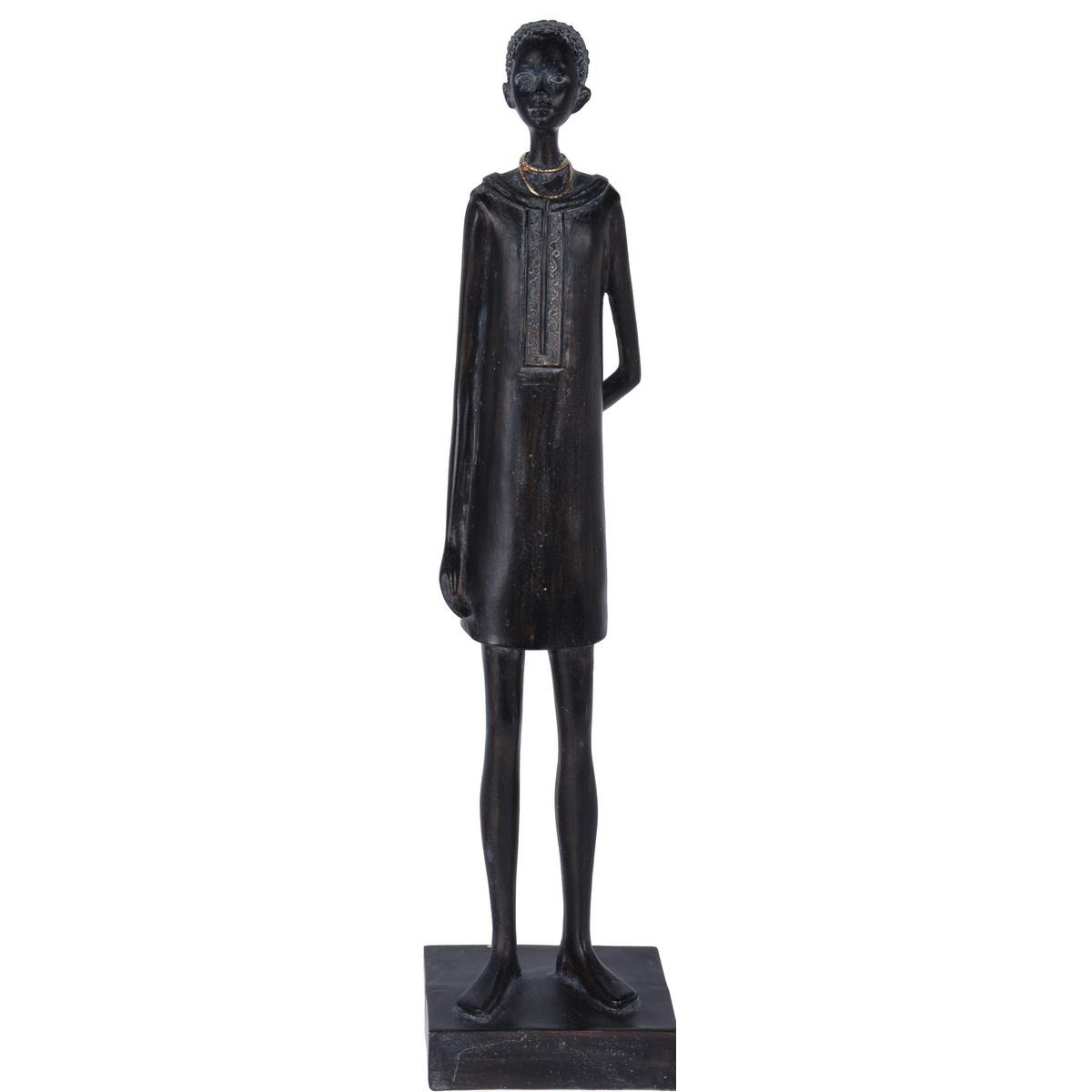 Koopman Dekorativní soška African woman, 40 cm