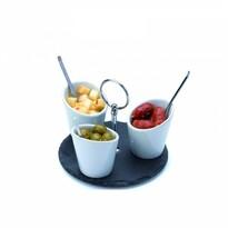 Serviciu de gustări Alpina 99324, 7 piese