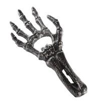 Kéz Öntöttvas sörnyitó ezüst, 17,5x 7,5 x 0,8 cm