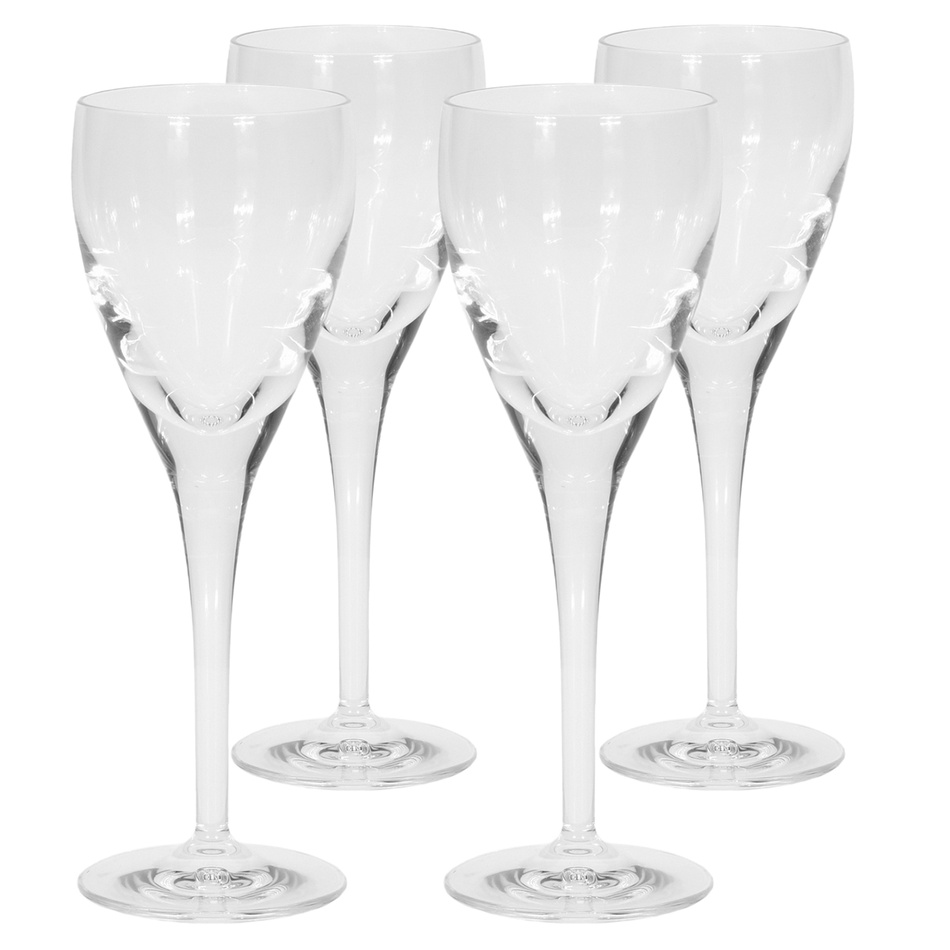 Sada pohárov na víno Crystal 220 ml, 4 ks