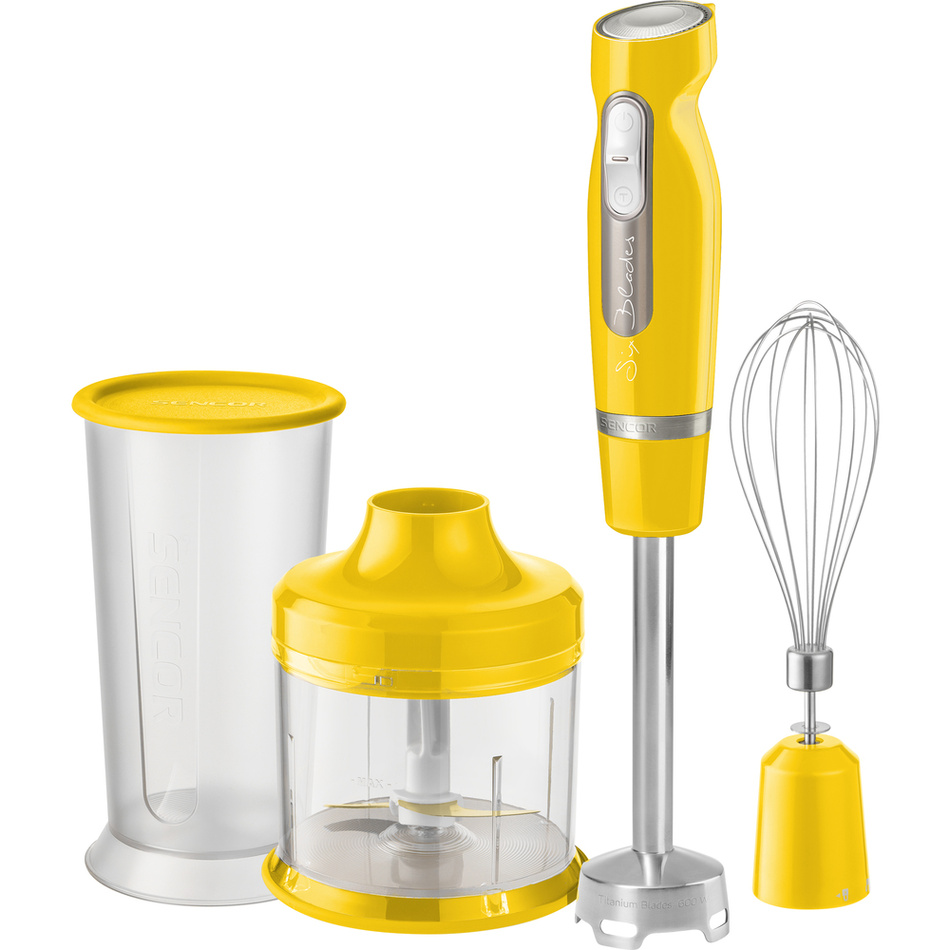SHB 4466YL tyčový mixér, žlutá