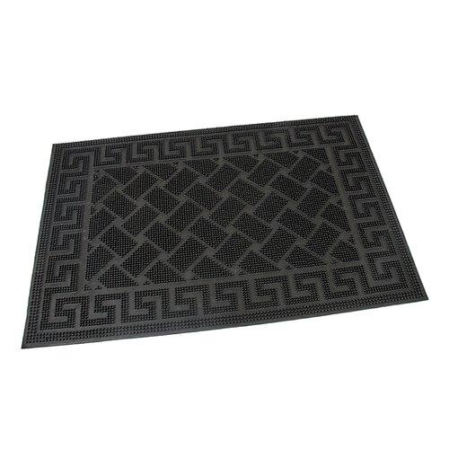 Flomat Vonkajšia rohožka kefová Rectangles, 40 x 60 cm