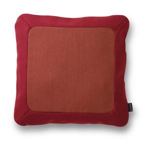 Normann Coppenhagen Polštářek Frame 50 x 50 cm, červený