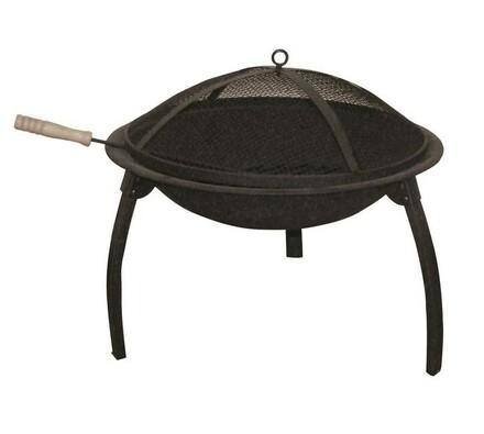 Venkovní ohniště, černá, pr. 54 cm