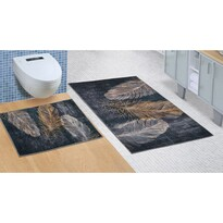 Set covorașe de baie Pene, 60 x 100 cm, 60 x 50 cm