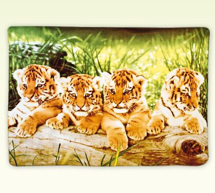 Přehoz na postel Tygři