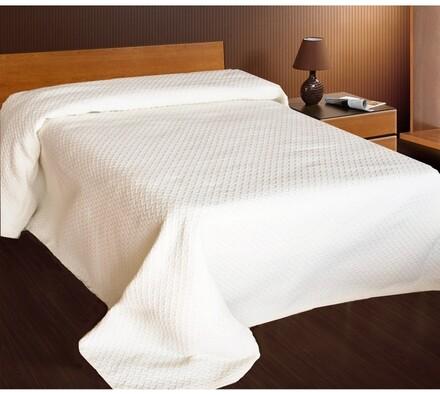 Přehoz na postel Safira, béžová, 240x260 cm