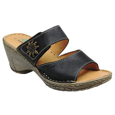 Santé Dámské pantofle vel. 39 černé