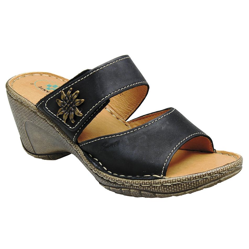 Pantofle Santé, černé