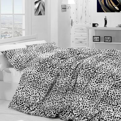 Bavlněné povlečení Leopard, 140 x 200 cm, 70 x 90 cm