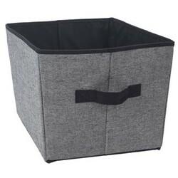 Úložný box 39 x 30 x 24 cm, čierna