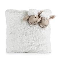 Bárányka kispárna fehér, 35 x 35 cm
