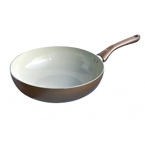 Toro Panvica wok keramika champagne 28 cm