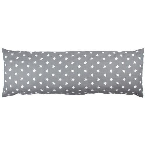 4Home Pótférj relaxációs párnahuzat Stars szürke, 55 x 180 cm