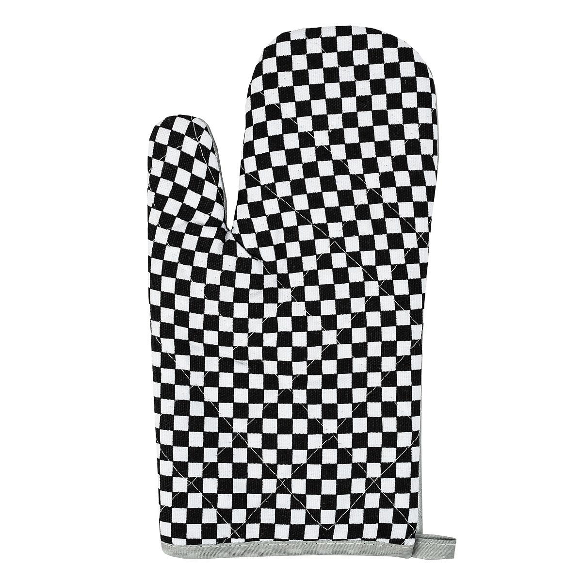 Jahu Chňapka Kostka černobílá, 28 x 18 cm