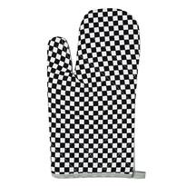 Chňapka Kostka černobílá, 28 x 18 cm