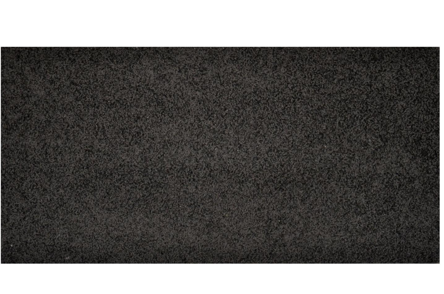 Vopi Kusový koberec Elite Shaggy čierna, 60 x 110 cm