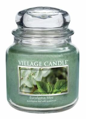 Village Candle Vonná svíčka Eukalyptus a máta - Eucalyptus mint, 397 g