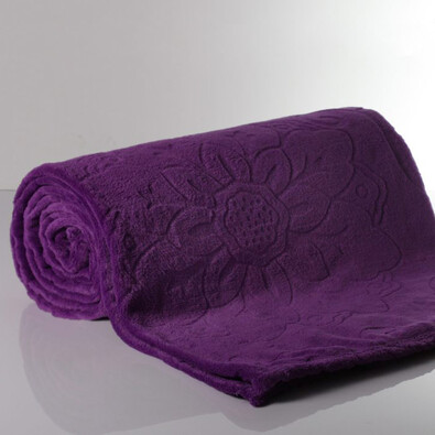 Deka Sissi fialová, 140 x 200 cm