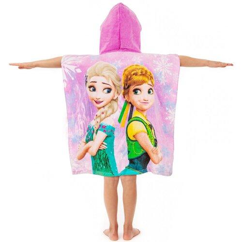 Jégvarázs Frozen pink 2017 gyermek poncsó, 60 x 120 cm