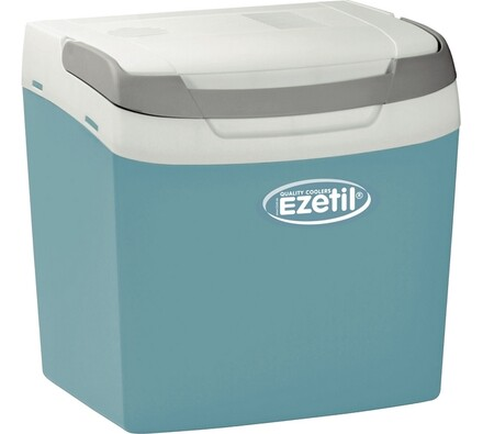 Autochladnička, Ezetil E26, Concept, bílá + modrá, 28,5 x 39 x 40 cm