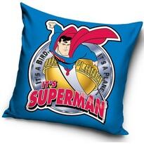 Poduszka Superman blue, 40 x 40 cm