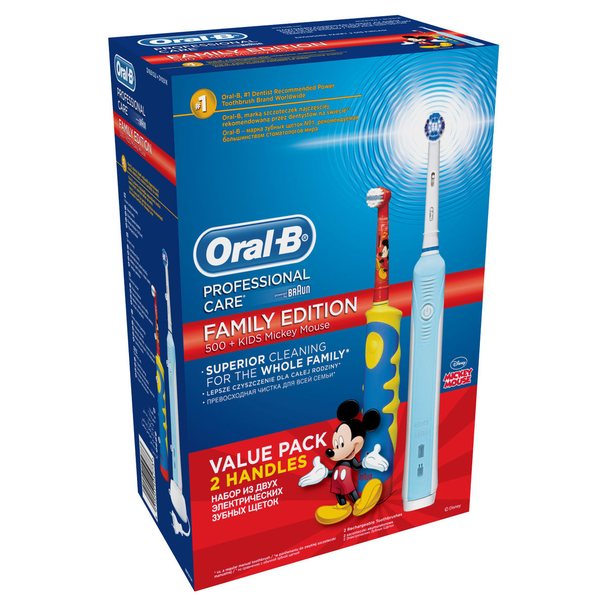 Oral-B Family pack PC 500 + D 10 K