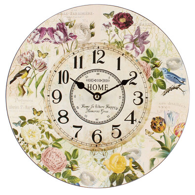 Ceas de perete Primăvară, aprox. 30 cm