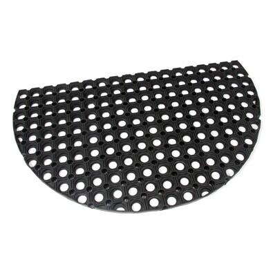 Venkovní rohožka půlkruhová Honeycomb II, 45 x 75 cm