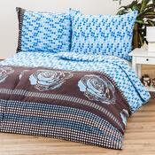 Povlak na polštář bavlněný satén Mary Rose blue, 40 x 40 cm