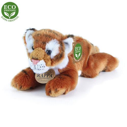 Rappa Eco-Friendly tiger hnedý ležiaci 17 cm