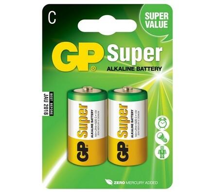 GP Greencell 14A LR14 Blistr alkalické baterie 2 ks