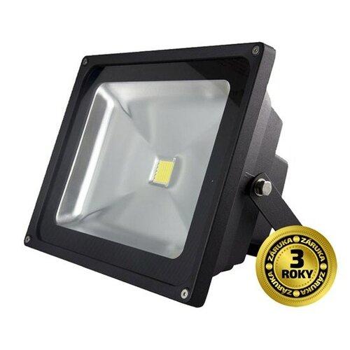 Solight LED vonkajší reflektor, 30W, 2400lm, AC 230V, šedá