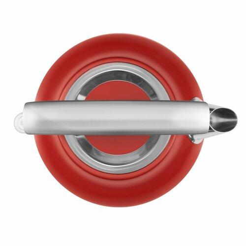 Concept RK3332 rýchlovarná kanvica RETROSIGN 1,7 l, červená