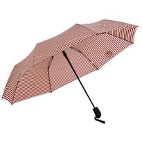 Deštník Stripes červená, 55 cm
